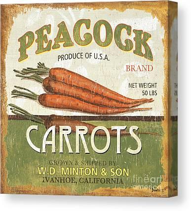 Carrots Canvas Prints
