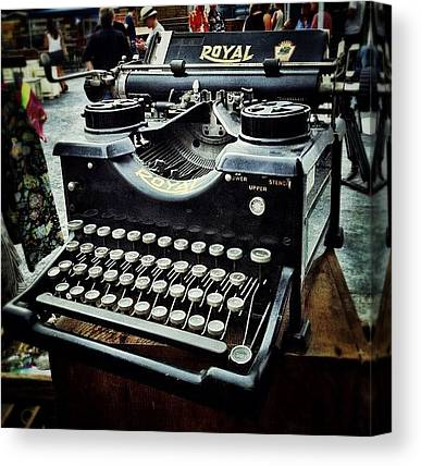 Typewriter Canvas Prints