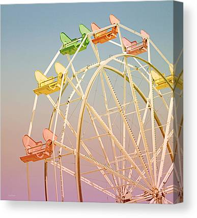 Carnival Rides Canvas Prints