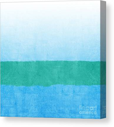 Abstract Seascape Canvas Prints