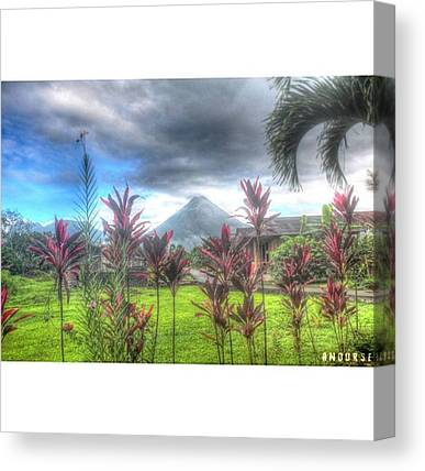 Arenal Volcano Canvas Prints