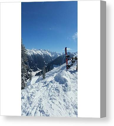 Snowboarding Canvas Prints