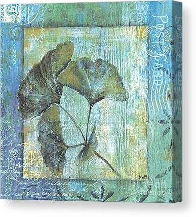 Gingko Canvas Prints