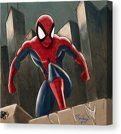 Spiders Canvas Prints