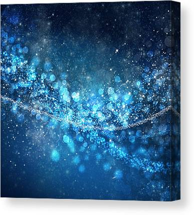Blue Background Canvas Prints