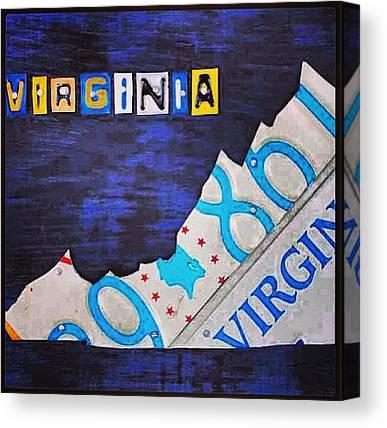 Virginia Canvas Prints
