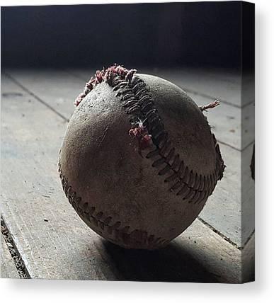 Baseball Canvas Prints