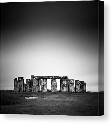 Stonehenge Canvas Prints