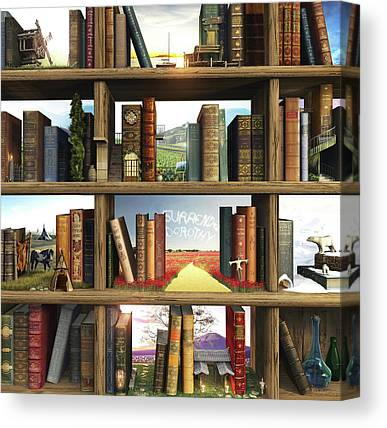 Book Canvas Prints