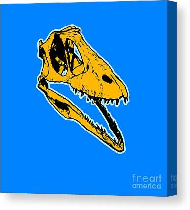 Trex Canvas Prints