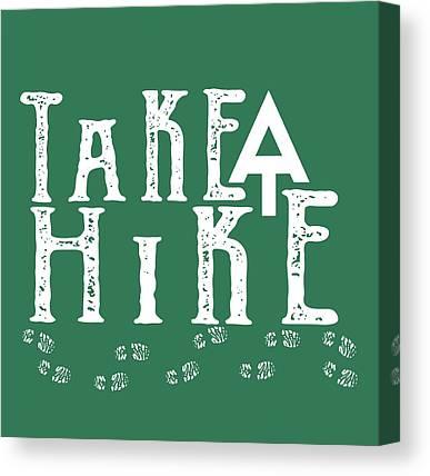 Hike Canvas Prints