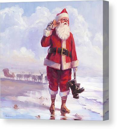 Christmas Elf Canvas Prints