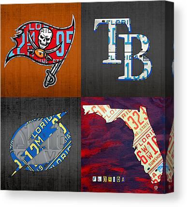 Tampa Bay Rays Canvas Prints