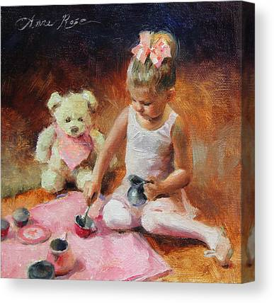 Tea Time Canvas Prints
