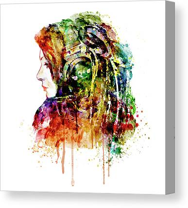 Music Inspired Mixed Media Canvas Prints