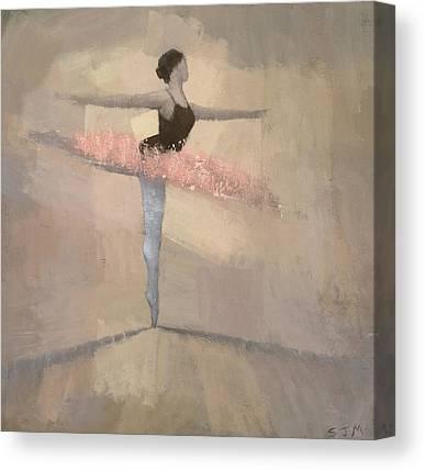 Ballerinas Canvas Prints