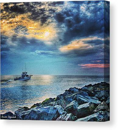 Fishing Boats Canvas Prints