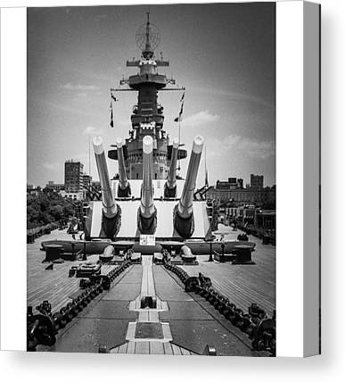 Battleship Canvas Prints