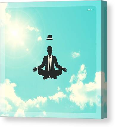 Blue Sky Canvas Prints