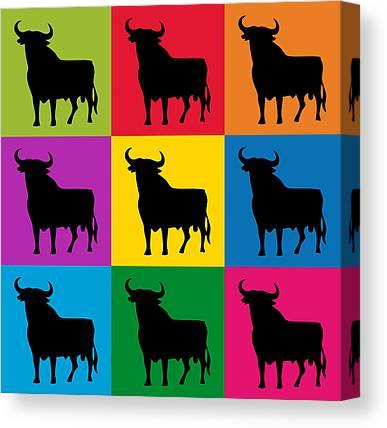Toro Canvas Prints