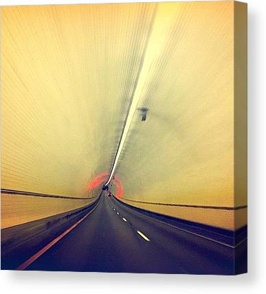 Tunnels Canvas Prints