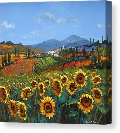 Girasole Canvas Prints