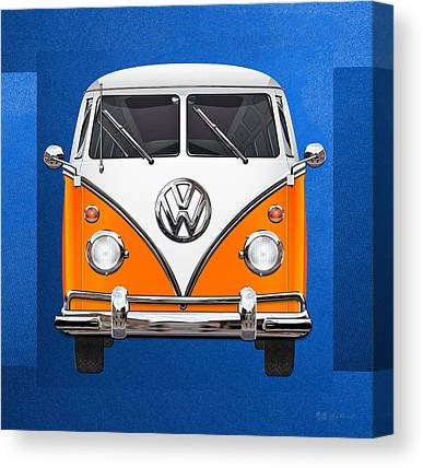 Microbus Canvas Prints