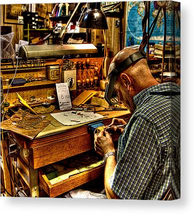 Jewelers Canvas Prints