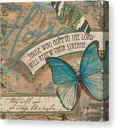 Bible Verse Paintings Canvas Prints