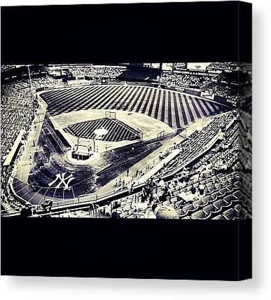 Yankee Stadium Canvas Prints