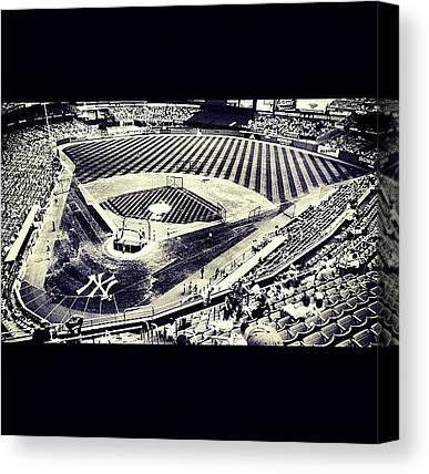 Yankee Stadium Canvas Prints