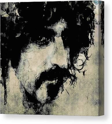 Frank Zappa Paintings Canvas Prints