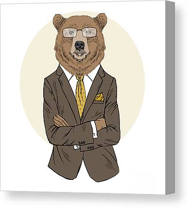 Office Manager Canvas Prints