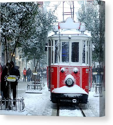 Cold Temperature Photographs Canvas Prints
