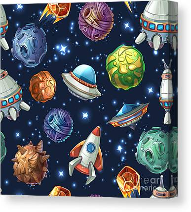 Spacecraft Canvas Prints