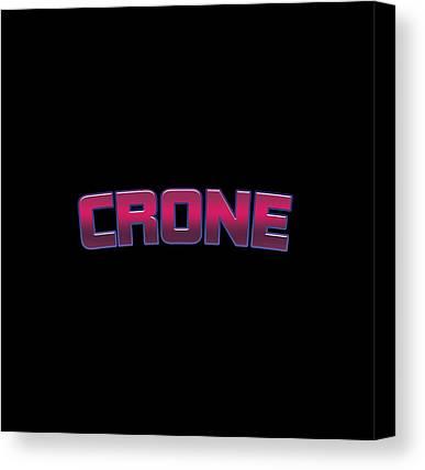 Crone Canvas Prints