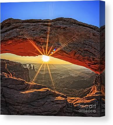 Southwestern United States Photographs Canvas Prints