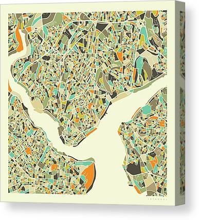 Istanbul Canvas Prints
