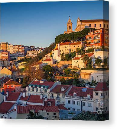 Iberian Peninsula Canvas Prints