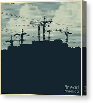 High-rise Canvas Prints
