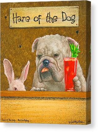 Hair Of The Dog Canvas Prints