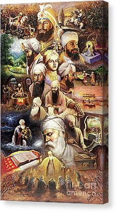 Sikh Paintings Canvas Prints