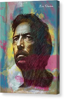 Eric Patrick Clapton Canvas Prints