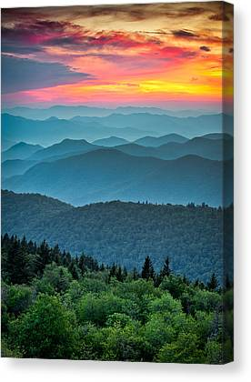 Southern Appalachians Canvas Prints