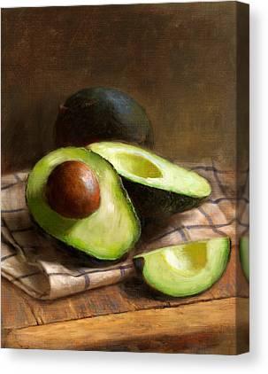 Food Canvas Prints