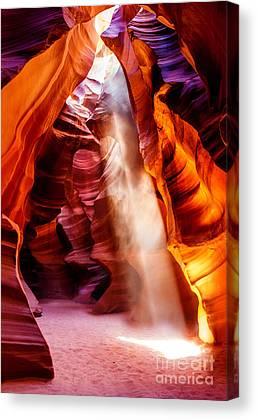 Slot Canyon Canvas Prints