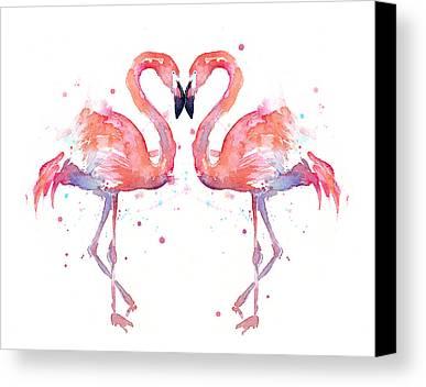 Designs Similar to Flamingo Love Watercolor