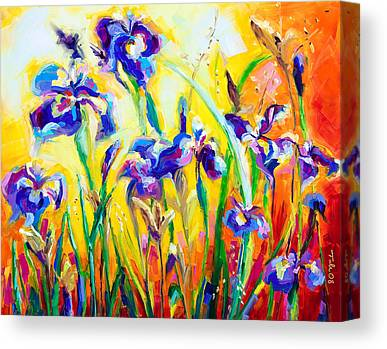 Jewish Painter Canvas Prints