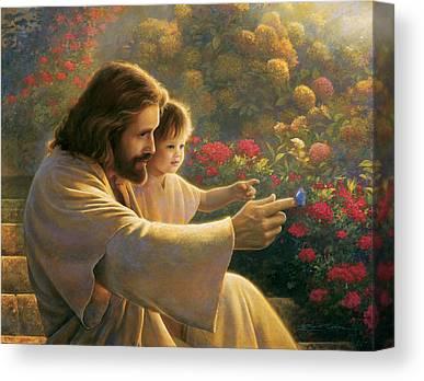 Jesus Canvas Prints