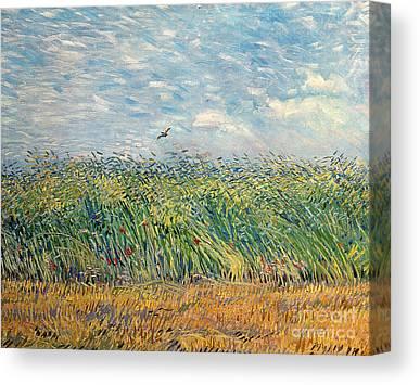 Brushstrokes Canvas Prints